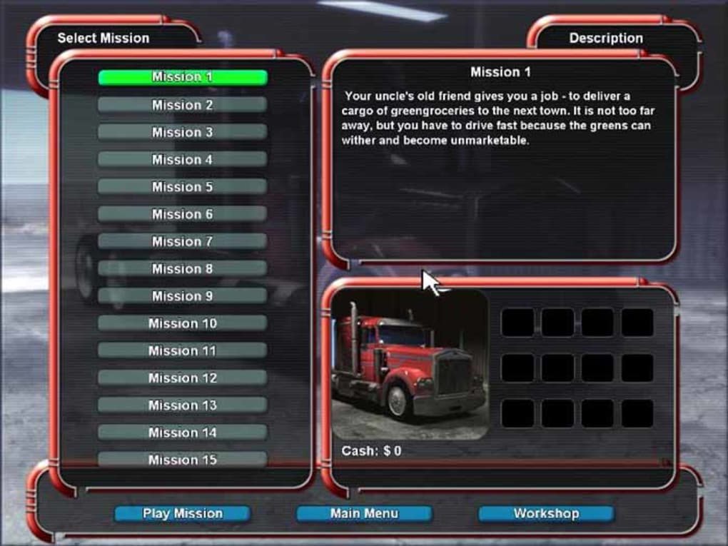 Mad Truckers 1.0 – Game lái xe tải